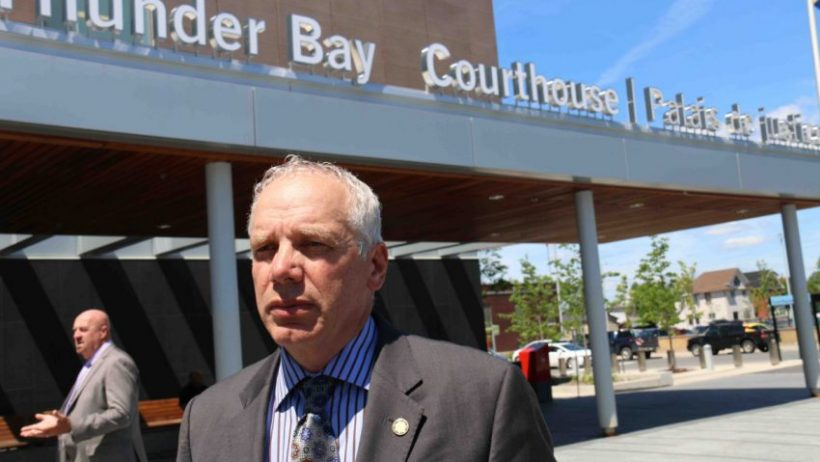 julian-falconer-infront-of-the-thunder-bay-courthouse