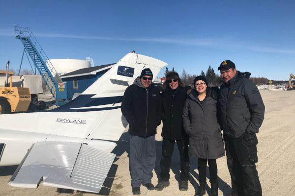 Falconair Visits Fort Albany First Nation - Falconers LLP