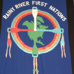 rainy river first nations flag