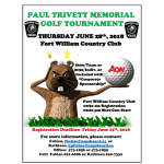 paul trivett golf poster