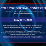 CACOLE Conference: Police Oversight and First Nations Policing in 2021